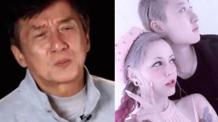 成龙回应吴卓林公开出柜 表情冷漠冷淡表示: &