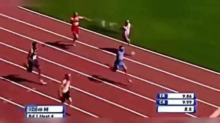 运动员搞笑失误瞬间, 一个比一个的惨, 看着都疼