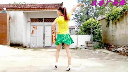 自创32步步子舞《苦咖啡》玫香广场舞 心态很好呀