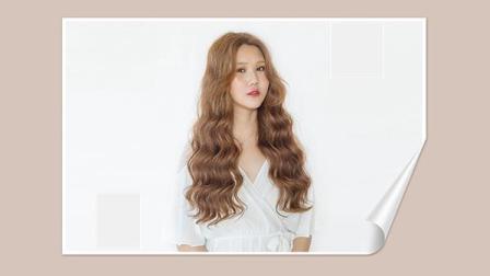 小树烫发短发中视频头发多拉直图片