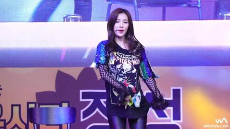 韩国美女歌手安昭熙现场, 性感热舞嗨翻了!
