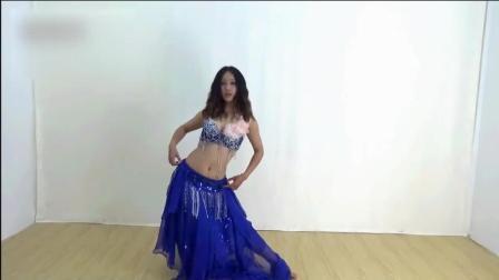 肚皮舞入门教程舞蹈前热身的示范练习3钢管舞肚
