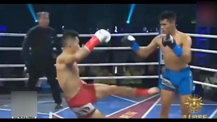 泰国S1冠军挑衅再次KO世界排名第六魏锐 上场就被