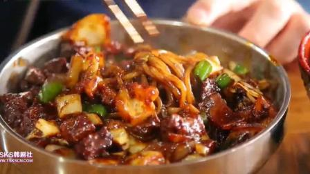 韩国明星吃辣椒酱炸酱面, 吃后称要得肠胃病, 坚决拒绝再吃下去