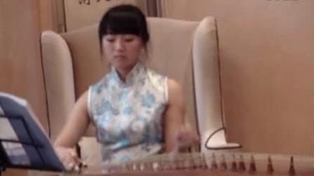 好听! 清纯美女古筝表演《沧海一声笑》