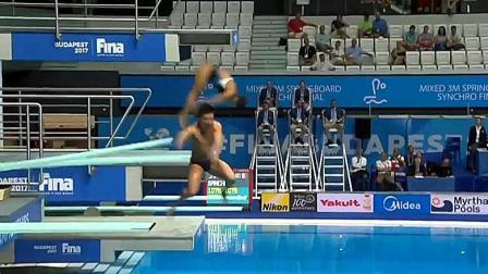 再现灵魂跳水, 双人三米板搞笑失误