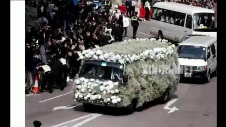 40岁梅艳芳带病为张国荣送葬痛不欲生, 数月后她的葬礼万人空巷