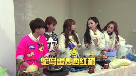 一群不会做饭的美女们在讨论煮什么菜,真是搞