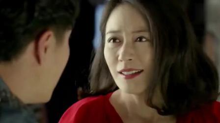 《大丈夫》俞飞鸿酒吧惹人群频频瞩目, 一身红裙