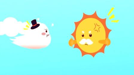 貓小帥故事北風與太陽