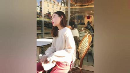 雪梨游走巴黎时尚街拍, 实力演绎美女网红的魅力