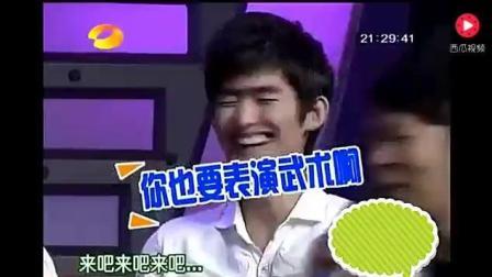 郑爽和张翰早期参加综艺节目, 节目上张翰处处都