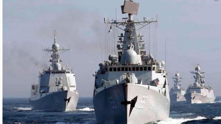 天壤地别! 中国新军舰频频下饺子, 美军还在继续使用老军舰