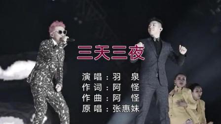 综艺节目《梦想的声音》歌手羽泉演唱《三天三
