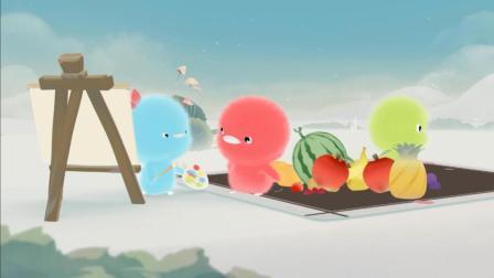 小鸡彩虹音乐MV 第35集 可爱小鸡