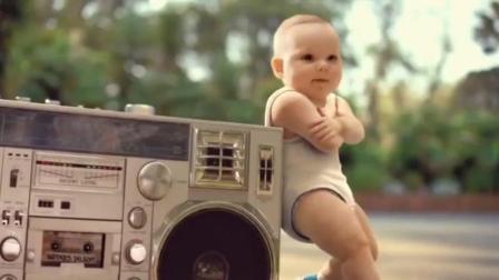 萌翻 那些以婴儿和轮滑为主角的广告MV集锦