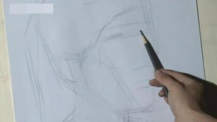 老虎铅笔画简单 简单的速写图片 初学者简单速写