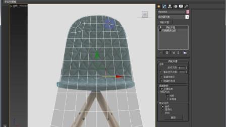 3DMAX教程基础-软包椅的v教程3dssd教程图片