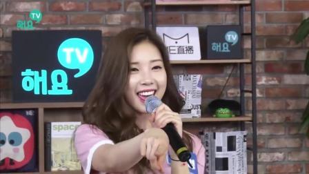 清纯韩国美女跳舞视频 动感可爱!
