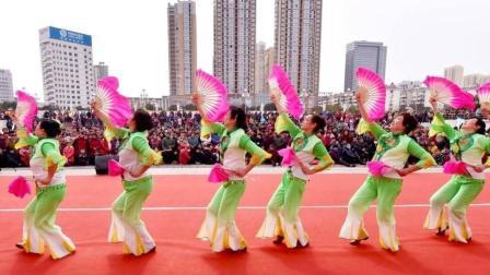 广场舞《吉祥中国年》, 简单好学的美丽舞蹈