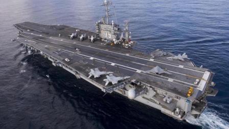 30吨战斗机砸在航母上, 丝毫没有影响, 航母的甲板到底有多厚?