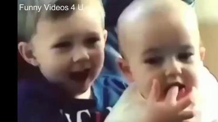 这小子将来绝对是篮球之神! 国外小娃娃搞笑视频