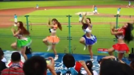 国内最美棒球啦啦队变身美少女战士场内热舞
