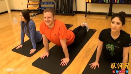 【搞笑自拍】健身中心果然是搭讪美女的好地方