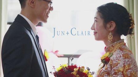 Jun + Clair 婚禮即日剪輯MV