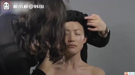 韩国美妆创意广告: 美女演绎一百年来韩国与朝鲜