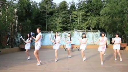 动漫社美女热舞中国风舞曲咏春