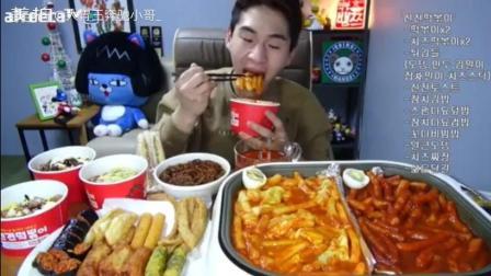 韩国主播都吃这种东西 国产网红看完是什么心情