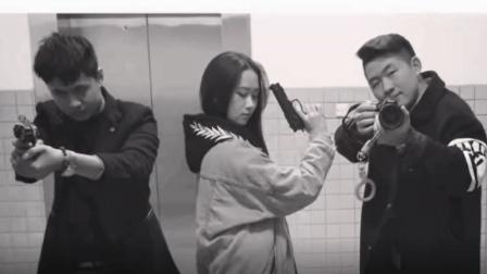 大学生团队拍摄经典对话, 美女主演微动作入木三