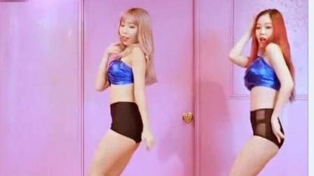 短裤美女热舞, 舞姿好迷人!