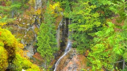 深秋的风光, 美丽的大自然, 震撼人心