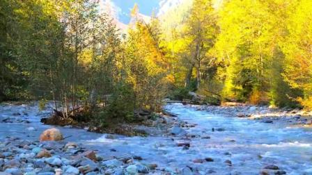 深秋的风光, 美丽的大自然