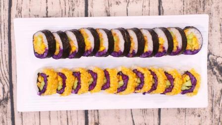 韩国人最爱的紫菜包饭 做法其实很简单 几块钱就能搞定 145