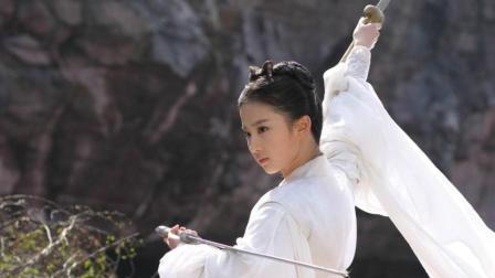 古装美女打戏, 刘诗诗惊艳, 赵丽颖霸气, 最美的