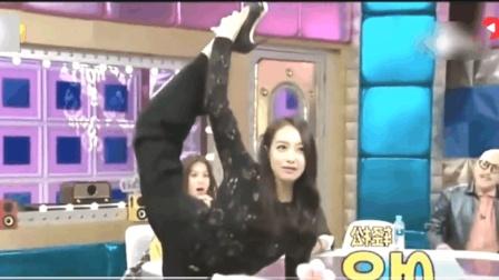 宋茜在韩国综艺节目中, 大秀中国传统舞蹈, 引得