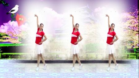 建群村广场舞《爱情火苗》每天晚上广场必跳的健身舞
