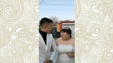 搞笑段子: 冬天最美婚纱照, 笑的肚子疼