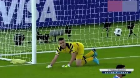 C罗精彩进球被吹+任意球直接破门 皇马1_0格雷米奥 捧起世俱杯!