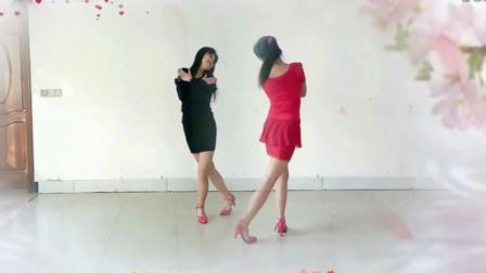 双人对跳舞《粉红色的回忆》教学 阿采广场舞