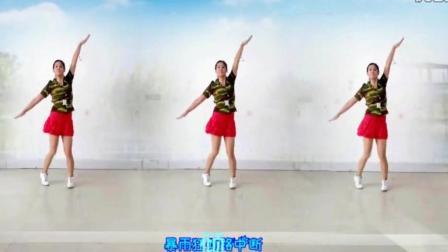 阿采广场舞《奋力救援守家园》正背面 好简单的舞蹈教学