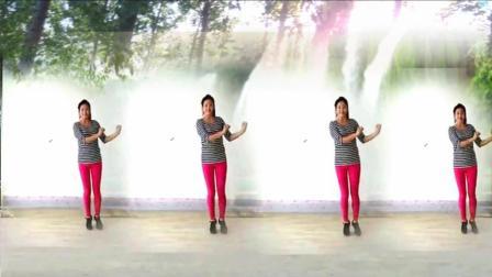 点击观看《简单动感48步子舞《还是算了吧》阿采广场舞 正背面》