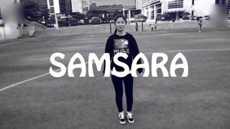 萌妹子: Park妹子模仿电音舞曲SAMSARA 神曲