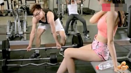 屌丝男士, 大鹏去健身遇到美女, 结局太尴尬了