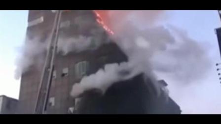 韩国一体育馆起火已致16死 现场浓烟滚滚
