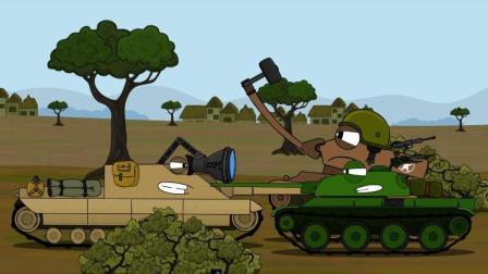 坦克世界搞笑动漫: FV217獾! 我站着不动你敢朝我