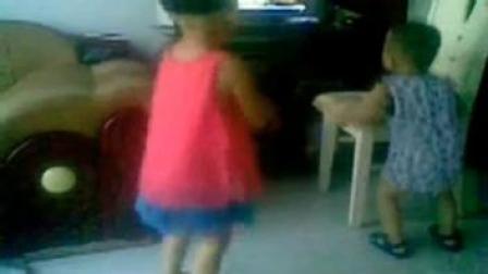 儿童舞蹈视频教学 dj 小孩 狂砍八段歌舞 dj舞曲
